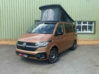 NEW 2020 '70' VW Transporter T6.1 Copper Bronze DSG Highline Camper, New Convers