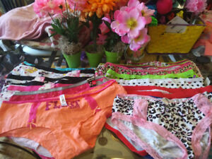 Brand new assorted styles briefs and boy shorts panties