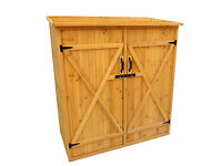 CEDAR STORAGE SHED, GARDEN, PATIO, GARAGE, BACKYARD, POOL, YARD