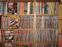 2,100 car magazine collection