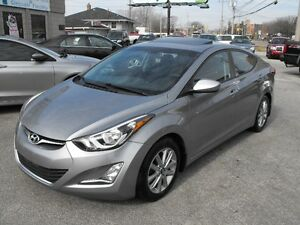 2015 ELANTRA SPORT  39KMS  LOADED  SUNROOF  A MUST SEE CAR !!!