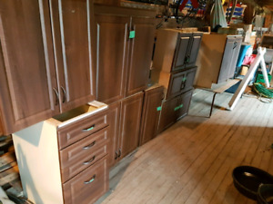 Kitchen cabinets used $1000 for all
