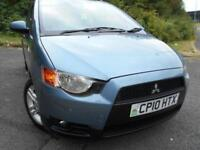 2010 10 MITSUBISHI COLT 1.3 CZ2 5D 95 BHP ** 1 PREVIOUS OWNER , SUPERB CAR **