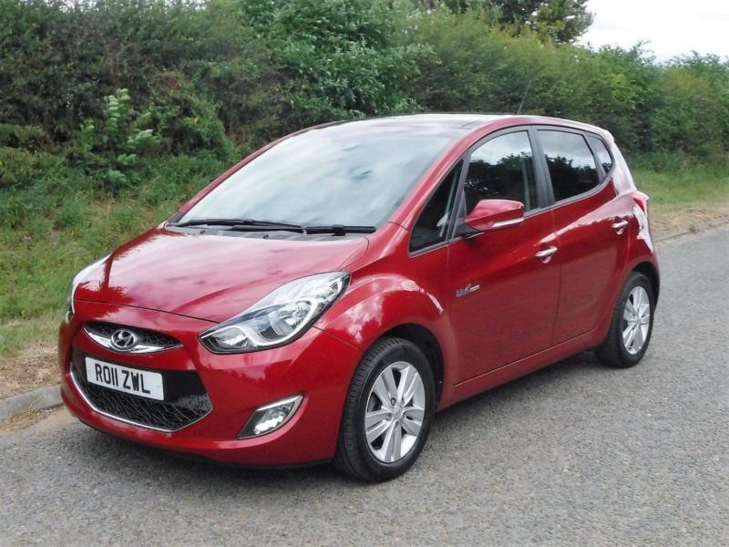 2011 Hyundai Ix20 14 Style 5 Door Red Manual Petrol In Pontefract