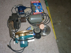 TOOLS, electric, with cord