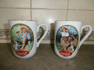 SET OF 2 COCA COLA COFFEE CUPS