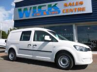 2012 Volkswagen CADDY MAXI C20 TDI KOMBI 102ps Van *5 SEATER* Manual Crew Van