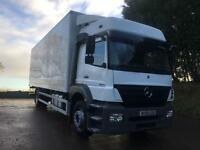 2009 09 Mercedes-Benz Axor 1824 Euro5, sleeper cab, 26ft box, tail-lift