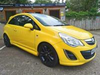 2012 VAUXHALL CORSA 1.2i 16v ( 85ps ) LIMITED EDITION ( a/c ) IN YELLOW