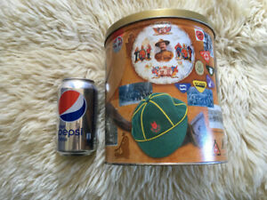 Boy Scout Canister Tin