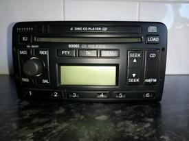 Ford Focus 6 disk CD changer head unit radio