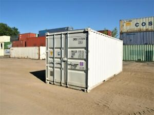 BRAND NEW shipping containers for rental. 20' & 40'