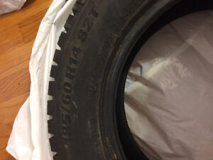Barely used Kumho Winter Tires 185/60 R14 28 T