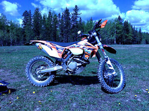 KTM 500 EXC - Fully Modified - with Lots of Extras