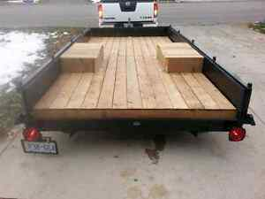 Utility trailer.  12' x 6' bed. Newer everything.
