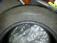 Almostc New Set of 4 Piretti 215/60R/16 Tires not on rims