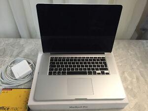 Macbook pro Rétina 15,4 po Quadricore i7