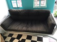 2 seater sofa/single bed