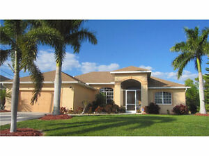 **LOCATED IN CAPE CORAL,FL - GORGEOUS OPEN FLOORPLAN POOL HOME**