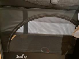 Joie baby kubbie sleep bedside travel cot