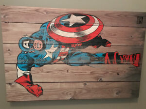Marvel Canvas Pictures