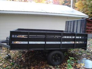 Custom build utility trailer
