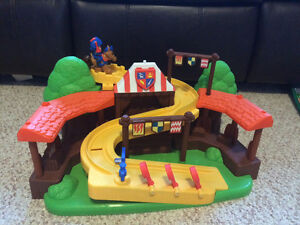 Mike the Knight arena playset