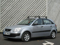 2007 KIA RIO 1.5CRDi DIESEL GS 5DR HATCH - ONLY 59000 MILES - 68+ MPG !!