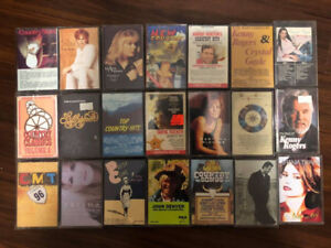 45 Country Music Cassette Tapes