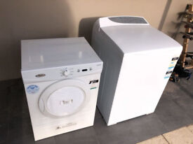 Fisher and paykel 8kg washing machine and whirlpool dryer