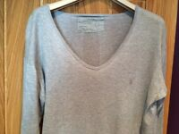 All Saints Grey Jumper (large)