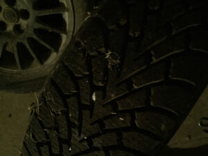 Winter tires and rims 205/60R16
