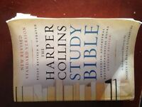The Harper Collins Study Bible student edition