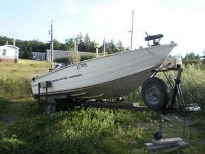 Fishing Boat & Trailer