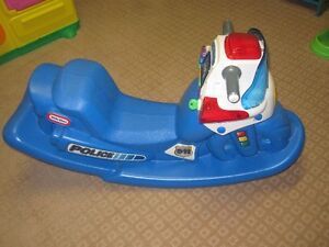 Little Tikes Police ride on/Rocker Excellent condition...