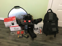 EOS - 1D X camera and equipment