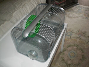 MINT CONDITION, MY FIRST HOME HAMSTER CAGE WITH EXERCISE WHEEL
