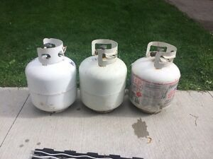 Propane Tanks (1 tank remaining)