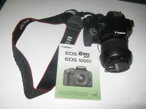 CANON EDS REBEL XS with 2 LENSES