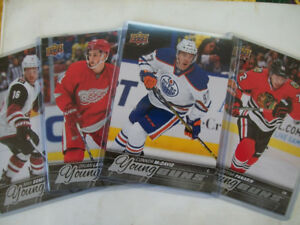 2015-16 UPPER DECK JUMBO YOUNG GUNS