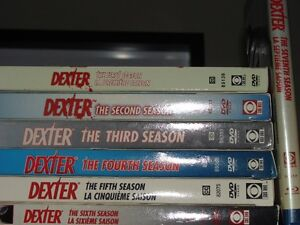 Dexter Seasons 1-6 on DVD