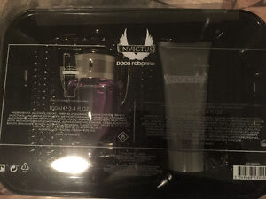 Paco rabanne Invictus perfume + shampoo and body wash