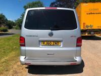 11 VW TRANSPORTER SHUTTLE 2.0 TD 140 BHP LWB 9 SEATS DSG AUTO T30 SE PX SWAPS