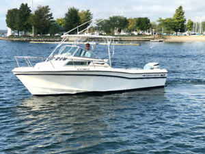 1995 22' Grady White 22 Seafarer with newer 225HP Four stroke