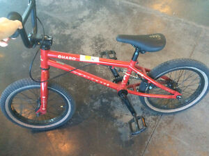 "USED Bike Liquidation -16 Available-16"" Downtown Haro Bike (Red)"