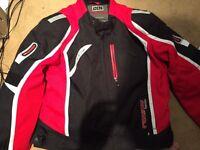 Men's XL IXS Racing Team Motorbike Jacket