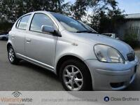 TOYOTA YARIS COLOUR COLLECTION VVT-I, Silver, Manual, Petrol, 2005 LOW MILEAGE