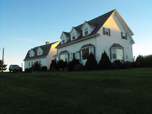 Country Home on 75 acres New Brunswick