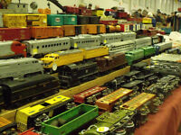Nov. 29th Brantford Model Train Show - Vendors Buying