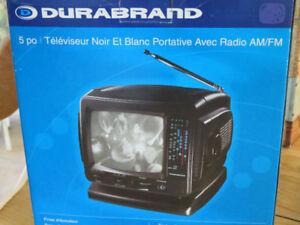 Téléviseur écran de 5 pouces avec radio